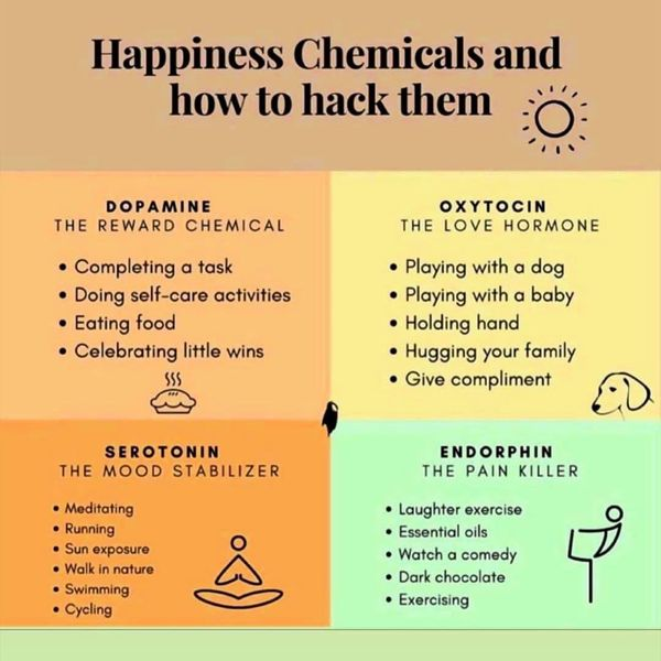 Happiness Chemicals