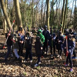 Half Term have a go day at Oare Gunpowder Works