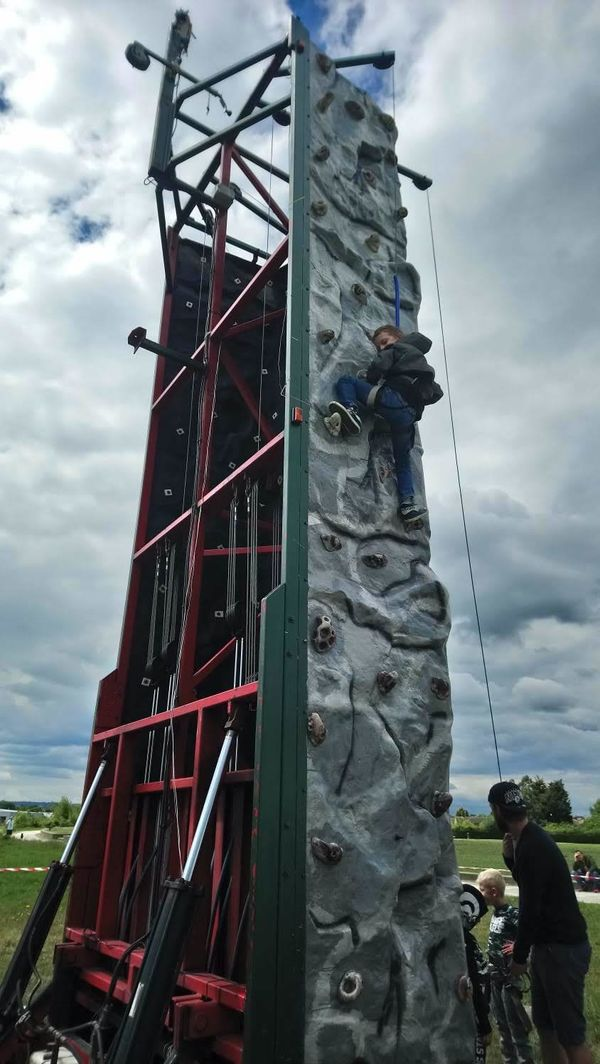 Portable Climbing Wall in Swale